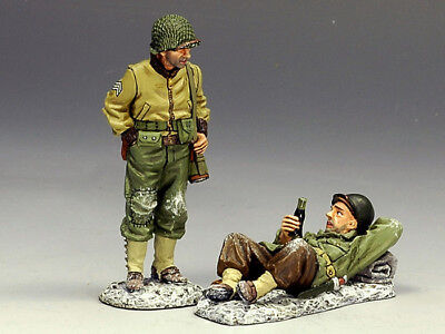 """King & Country Bba028 Wwii """"takin' It Easy""""""""...ardennes 1944"""