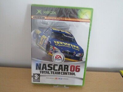 NASCAR 06: Total Team Control (Xbox) new sealed pal version