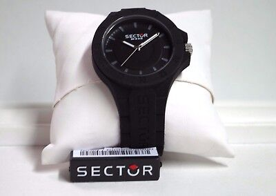 !!!NEW!!! Orologio SECTOR unisex STEELTOUCH 41mm 3H BLACK