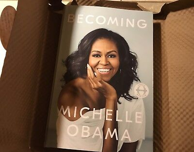 Authentic Signed Copy of Becoming by Michelle Obama