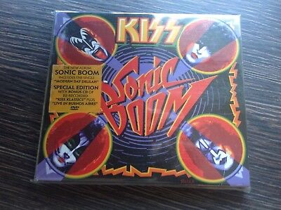 KISS  - SONIC BOOM 3 x CD/ DVD !