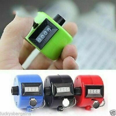 Green Hand Held Tally Palm Manual Clicker Golf Counting Tasbih.FREE P&P!
