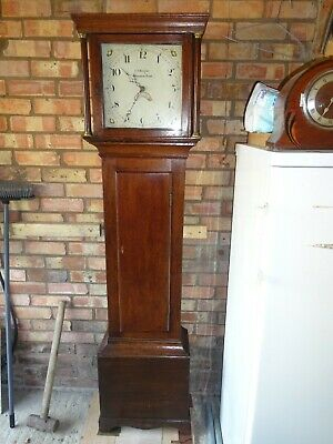 Antique Longcase Clock 30 Hour  J D Bright of Saxmundham Suffolk  working order