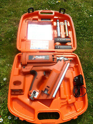 Paslode Im30/90 1St Fix Gas Nail Gun Fully Serviced With Batteries Gas + Case