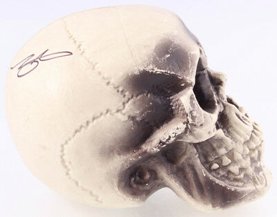 """John Kassir Signed """"Tales from the Crypt"""" Replica Skull (Legends COA)"""