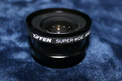 Tiffen Super-Wide Angle Converter 0.5x 37mm with caps and bag