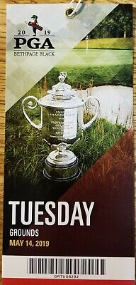 2019 PGA Championship Tickets At Bethpage Black - Tuesday Practice Grounds Pass