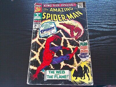 American comic the Amazing Spiderman the web and the flame