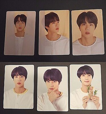 BTS Love Yourself World Tour Official Mini Photocard - JIN