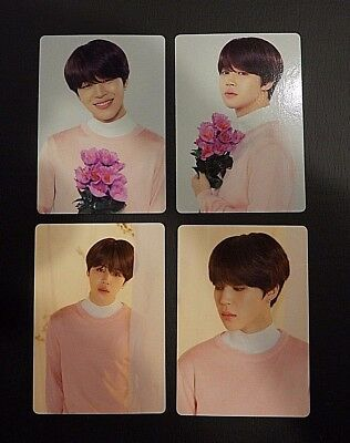 BTS Love Yourself World Tour Official Mini Photocard - JIMIN