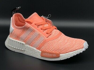 29620014d ADIDAS NMD R1 W BY3034 Women Sun Glow Pink Authentic Boost 3 Stripe ...