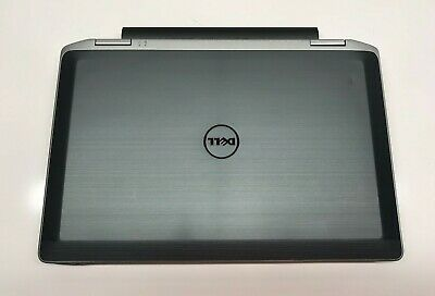 Dell Latitude E6320 12.5'' Laptop Intel i5-2540M 250GB HDD 4GB RAM Win 10