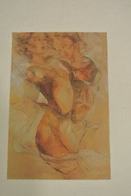 """Gary Benfield Serigraph On Paper  """"day Dreaming"""" Signed #631/750"""