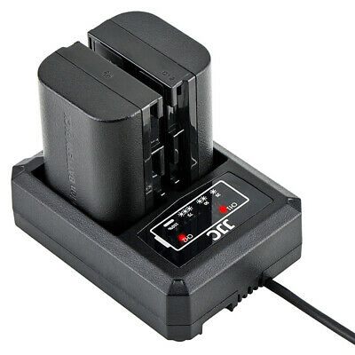 Usb Dual Double Battery Charger Station Dock Dch-Lpe6 For Canon Lp-E6/Lp-E6N