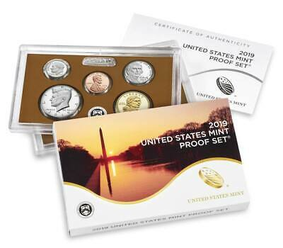 2019 S United States Mint Proof Set 10 Coin No Extra Cent W