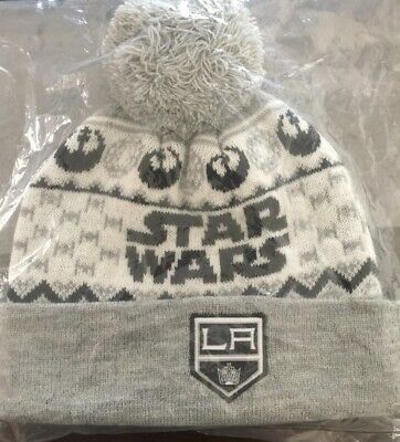 wholesale dealer 38918 a6ac8 Brand New!! LA Kings Star Wars Night Beanie! Giveaway Night January 12th!