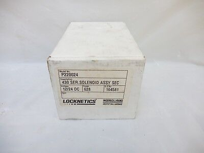 Ingersoll Rand Locknetics Solenoid Assembly P220024 430 Series New
