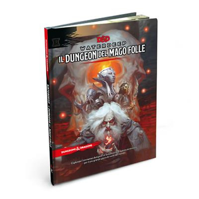 Dungeons & Dragons WATERDEEP: DUNGEON DEL MAGO FOLLE 5° Edizione in ITA D&D