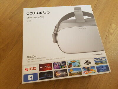 Oculus Go, Standalone Virtual Reality (VR) Headset/Brille, weiss