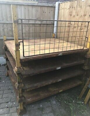 Demountable Post Pallet Stillage cage