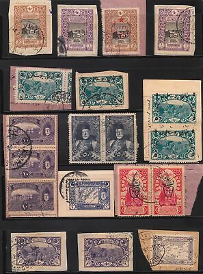 Turkey In Asia Ottoman Empire 1918-1921 Fragments Part 1 Postmarks