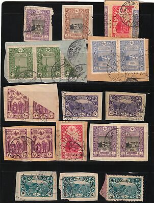 Turkey In Asia Ottoman Empire 1918-1921 Fragments Part 2 Postmarks