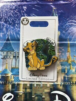Disney Parks Earth Day 2019 The Lion King Simba Pin LE In Hand