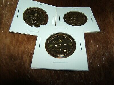 2012 Grey Cup loonie BU from roll...free ship for Canada...low ship for USA!!