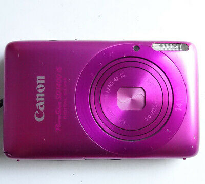 Canon PowerShot ELPH SD1400 IS / IXUS 130 14.1MP 720P PINK Digital Camera