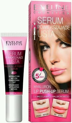Eveline Hyaluron Lip Push-Up Serum Booster Filler 12ml