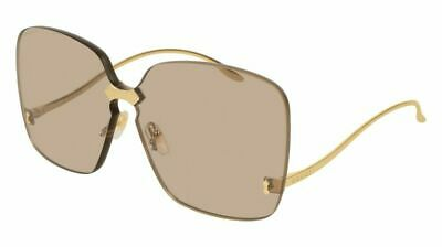aa7e0e80aec NEW Gucci Women Sunglasses GG0352S 002 Gold Brown Lens Authentic