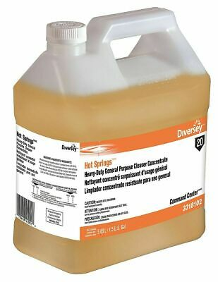 Diversey Hot Springs Command Center Heavy Duty All Purpose Cleaner 1.5 Gal -2 Pk