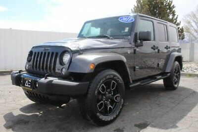 2018 Jeep Wrangler JK Unlimited 4WD 2018 Jeep Wrangler JK Unlimited 4WD Low Miles Salvage Damaged Perfect Rebuilder!