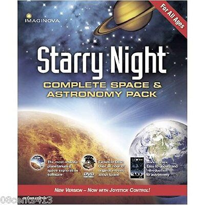 Starry Night: Complete Space & Astronomy Pack - Deluxe (PC/Mac) Joystick Control