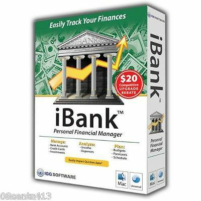 iBank Personal Financial Manager (MAC, 2007) Easily Track Your Finances! READ