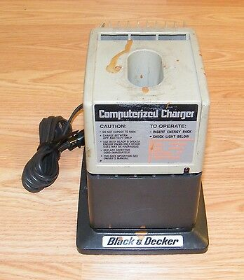 Genuine Black & Decker (98060) Computerized 60 Minute Battery Charger