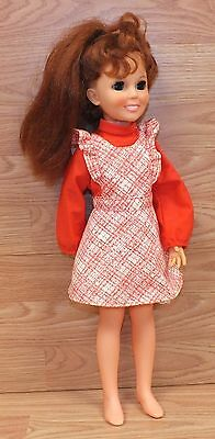 Vintage 1969 Genuine Ideal Toy Corp. OH - 18 Chrissy Growing Hair Doll READ