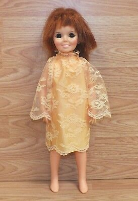 Vintage 1968 Genuine Ideal Toy Corp. Chrissy Growing Hair Doll READ