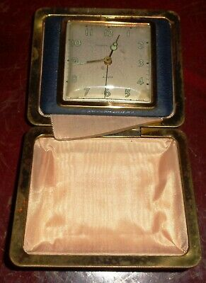 Vintage Phinney-Walker Travel Alarm Clock