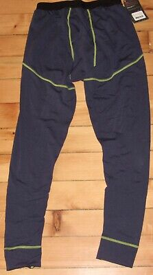 441ea18f8c Stoic Breathe Composite Bottom Mens Pants Small Blue Base Layer Midweight  NWT