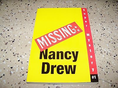 Nancy Drew Girl Detective Super Mystery #1: Where's Nancy? Carolyn Keene (2005
