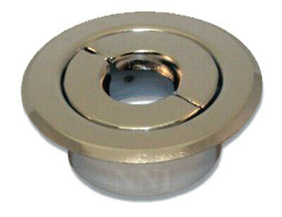 "Replacement Split Fire Sprinkler Recessed Escutcheon Chrome- 1/2"" IPS"