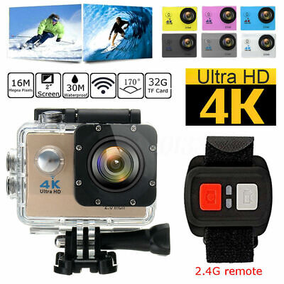 4K SJ9000 1080 Action Sport Camera Waterproof WiFi DV DVR Cam Camcorder Full HD