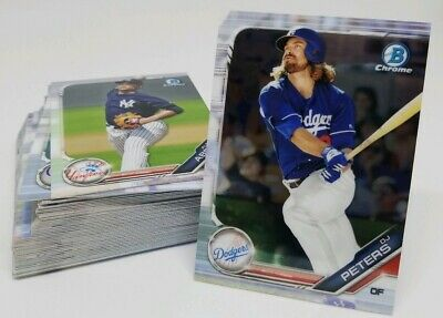 2019 Bowman Chrome Prospects RC BCP1-BCP150 Pick Your Card & Complete Your Set