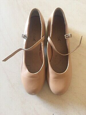 Tan Tap Shoes Size 7.5