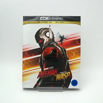 (Presale) Ant-Man And The Wasp - 4K & Blu-ray Slip Case Edition (2019) / UHD