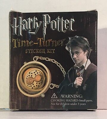 Miniature Editions: Harry Potter Time Turner Sticker Kit Kit - Running Press NIB