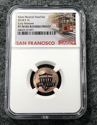 2018 S Lincoln Shield Cent NGC PF70 RD Reverse Proof Early Release