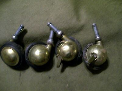 Shepherd Cart Rollers Set Of 4  Used Two Locking Style 3 In Roller