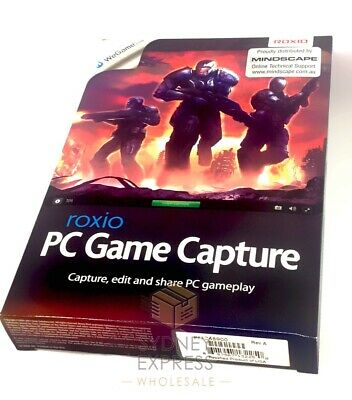ROXIO GAME CAPTURE PC Screen (NEW!) for Youtube Video Editing